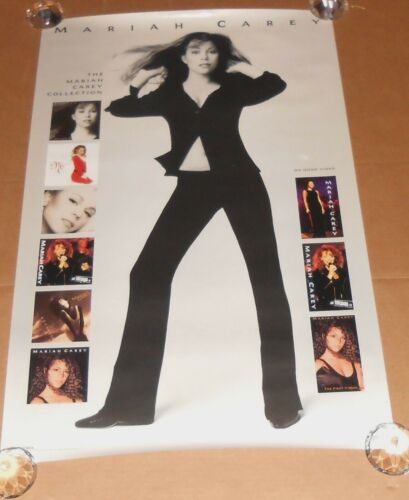 Mariah Carey Poster Original 1995 Promo 36x23 album covers