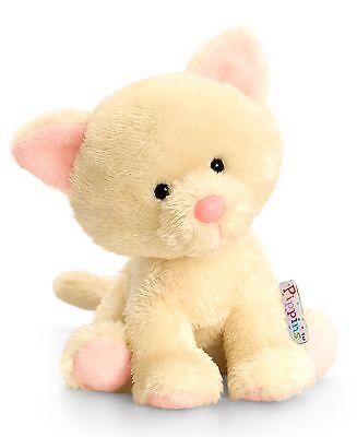 Pippins Plüschtier Katze Blossom Kuscheltier Keel Toys, Stofftier beige ca.14cm