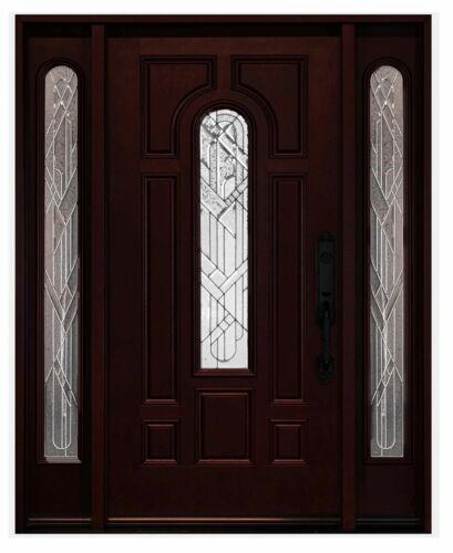 Fiberglass Front Entry Door Double Door Pre-hung Single Door