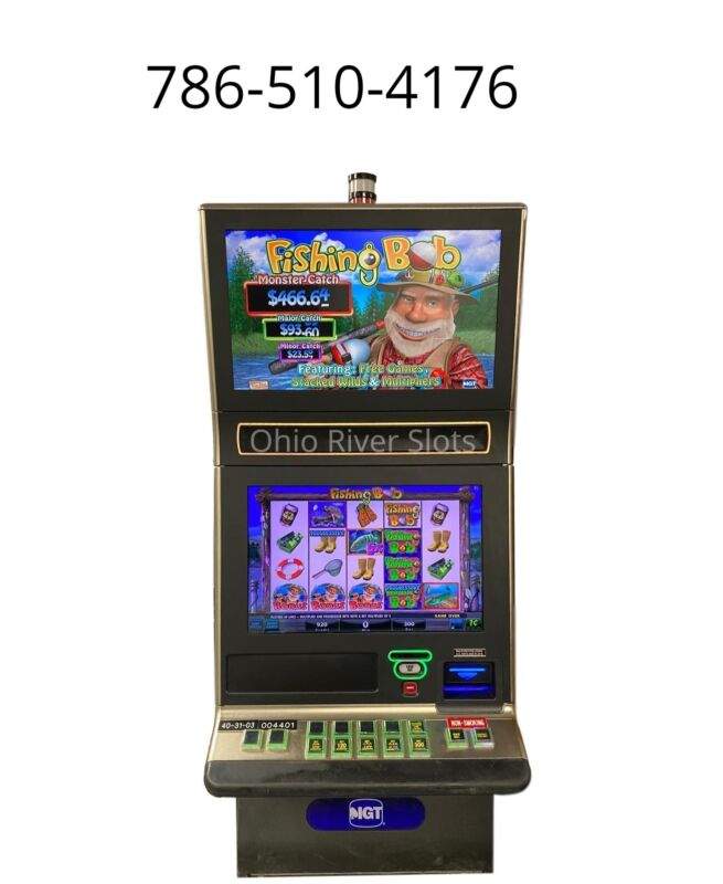 IGT G23 SLOT MACHINE Fishing Bob (TICKET PRINTER, COINLESS)