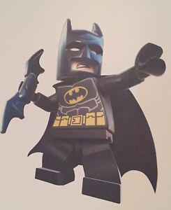 Bedroom vinyl graphics - Batman and Lego