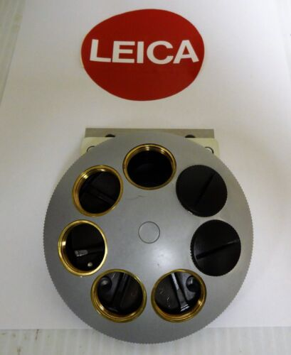 Leica DMR Microscope 7-Place Objective Turret