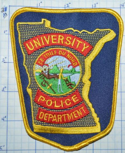 MINNESOTA UNIVERSITY POLICE DEPT PATCH