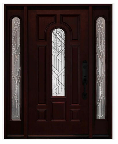 Fiberglass Front Entry Door Double Door Pre-hung Single Door