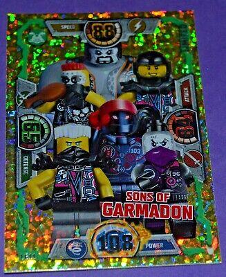 LEGO NINJAGO Limited Edition Trading Card series3 LE11 Sons of GARMADON