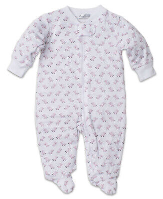 Kissy Kissy Baby Trunks Print Footie with Zipper Newborn New with Tags