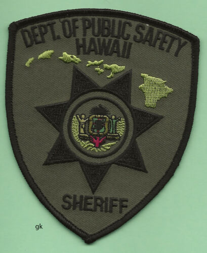 HAWAII STATE SHERIFF