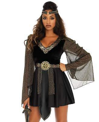 Leg Avenue Womens Glamazon Warrior Costume Dress Roman Greek Gladiator Plus Size