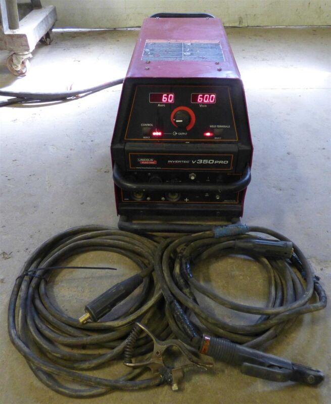 2006 Lincoln Invertec V350PRO Multi Process Welder MIG TIG Stick Arc
