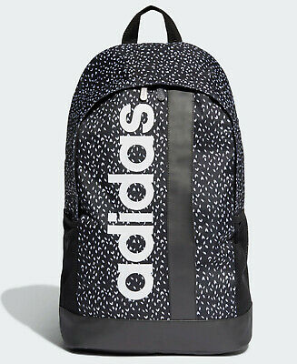 Adidas Linear Graphic Backpack Bag school gym men womens kids NEW LIMITED QTY