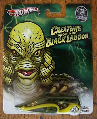 Hot Wheels Universal Studios Monsters Creature from the Black Lagoon