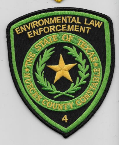 Nueces County Constable Envirometal Police Law Enf State Texas TX PCT 4