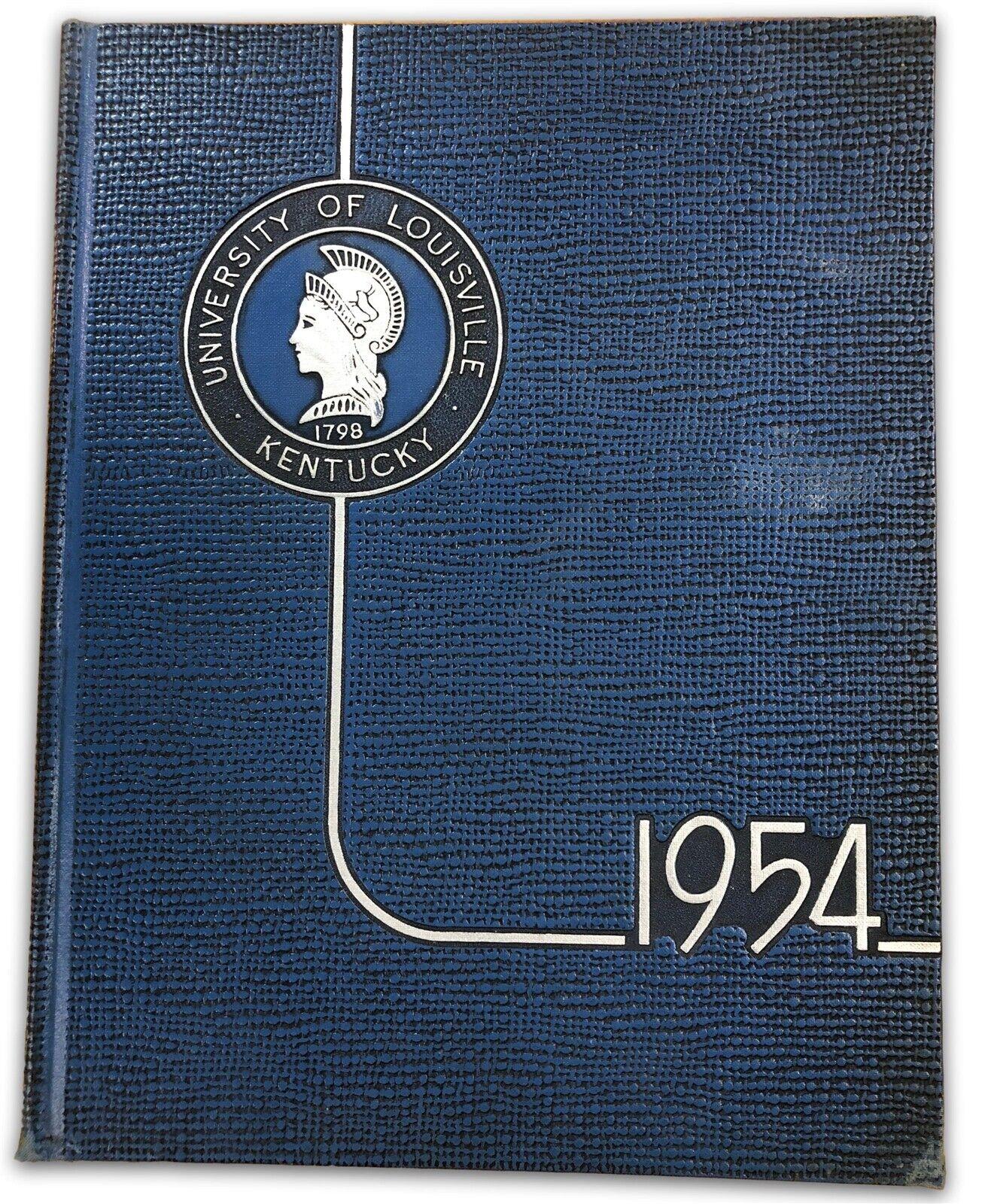 Johnny Unitas Junior Season University Of Louisville 1954 Thoroughbred Yearbook Ebay