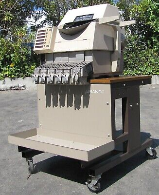 Brandt High Speed Coin Sorter And Counter 953-1