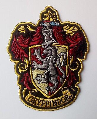 Harry Potter - Gryffindor - Patch Aufnäher - Kostüm Aufnäher zum Aufbügeln - neu