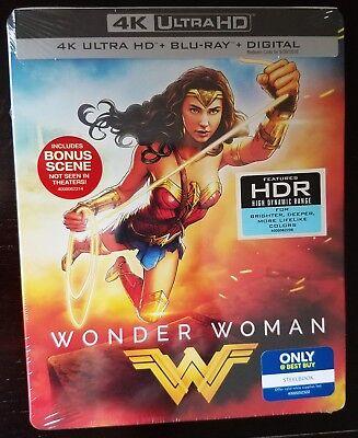 DC Comics WONDER WOMAN 4K Blu-ray+ 2D Digital Copy Best Buy