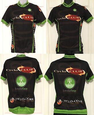 Verge V-Gear Cyclo Club Cycling Bike Jersey Race Cut Full Zip Polyester Unisex S