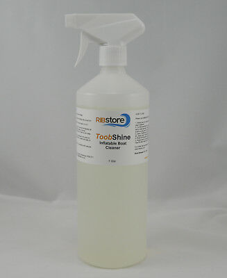 RIB & Inflatable Boat Cleaner 1 LITRE ToobShine - Hypalon & PVC fabric cleaner