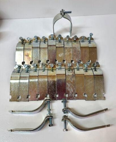"25 Thomas & Betts  3"" Rigid Strut Channel Pipe Clamp Strap ~ NEW"