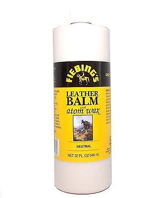 Leather Balm with Atom Wax 32 fl. oz. (946 mL) 2181-00 by Fiebing's