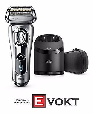 BRAUN Series 9 9291CC Men's Shaver Wet & Dry SyncroSonic Technology Genuine New
