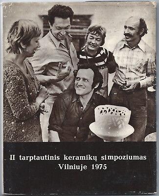 II tarptautinis keramiky simpoziumas Vilniuje, 1975; Published in 1978