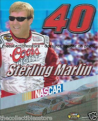 Sterling Marlin Coors Light Beer Dodge Nascar Nextel Cup 8 X 10 Motion Photo
