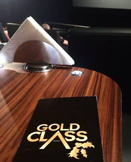 Event Cinemas Gold Class movie pass plus food