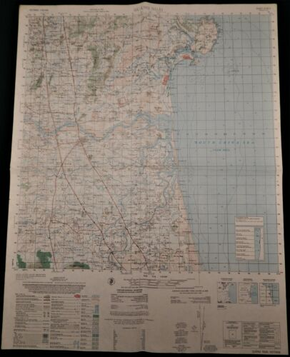 MAP - VIETNAM - QUANG NGAI - MY LAI - 6739-II