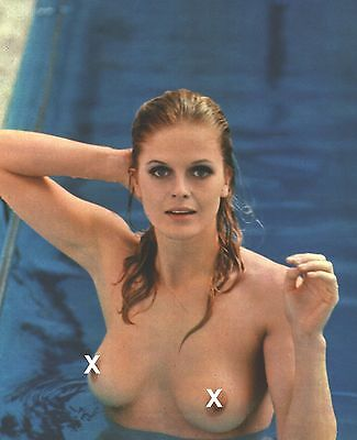 SEXY KARIN SCHUBERT IN THE 1970S GREAT RARE PHOTO