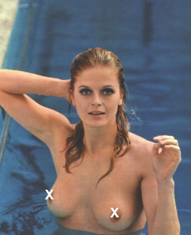 SEXY KARIN SCHUBERT IN THE 1970S GREAT RARE PHOTO