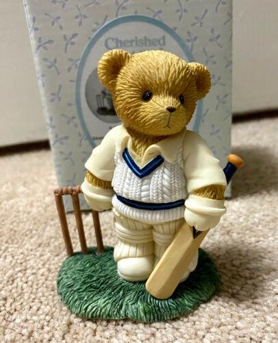Cherished Teddies 2004 Phil Boy Cricketer European Exclusive 4002907