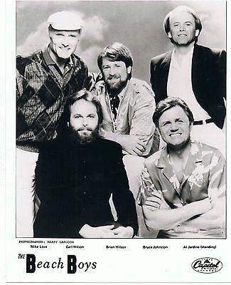 "The Beach Boys UK Original Capitol Promo Photo  10"" x  8"""