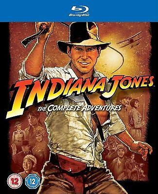 INDIANA JONES Series 1-4 Complete Box set Part 1 2 3 4 Collection New UK