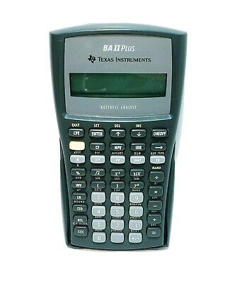 Texas Instruments BA II Plus Business Analyst Financial Calculator With Case