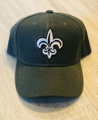 NFL SALUTE TO SERVICE Style CAMO GREEN NEW ORLEANS SAINTS Cap Hat 2019 Patch 100