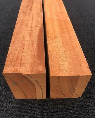 Honduran Mahogany Guitar Neck Blanks 4x3 Tonewood Blocks Genuine Honduras
