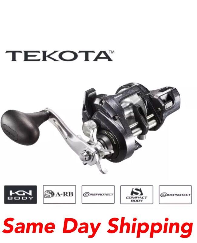 NEW SHIMANO TEKOTA 600HGLCA LINE COUNTER LEVEL WIND BAITCAST REEL 600 LC