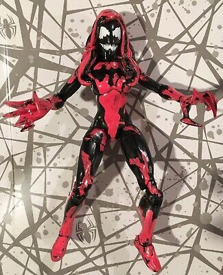 Marvel Legends Custom AGONY - Spider man Carnage Venom Scream Silk Woman Molten