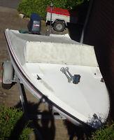 Motorboot Fletcher 14 inkl YAMAHA 60 PS (Neuwertig), Bootstrailer Kreis Pinneberg - Heist Vorschau