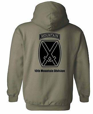 United States Army - 10th Mountain Division Hoodie