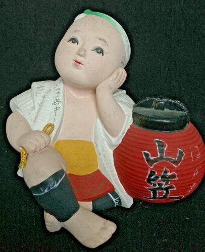"VINTAGE JAPANESE PORCELAIN BISQUE HAKATA FIGURINE  5 1/2"" tall"