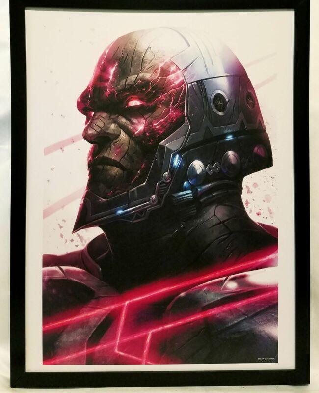 Darkseid Zombie DCeased by Francesco Mattina FRAMED 12x16 Art Print Poster DC Co