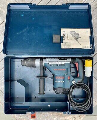 Bosch GBH5-40DE 5KG SDS Max Combi Hammer Drill / Breaker 110Volt