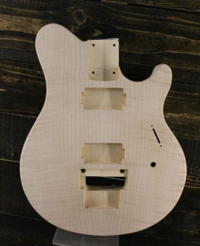 MJT Official Custom Order Vintage Aged Nitro Guitar Body Mark Jenny Flame Maple