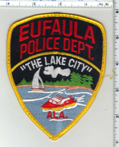eufaula Police (Alabama) 2nd Issue Uniform Take-Off Shoulder Patch