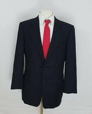 Hickey Freeman Loro Piana Men's 40R Tasmanian Pinstripe Blazer Suit Jacket