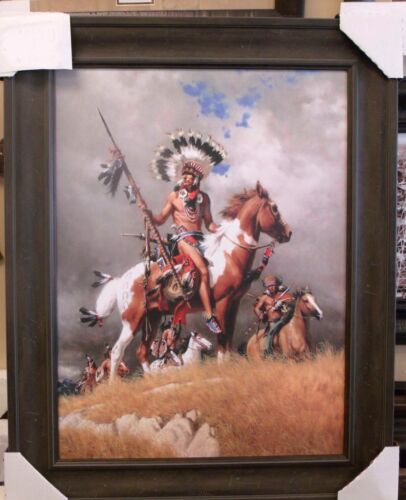 Native American Art Picture Framed