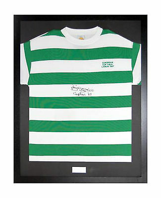 READY MADE FRAME FOR FOOTBALL SHIRT 80x60 + FREE ENGRAVED PLAQUE+SHIRT INSERT