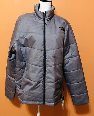 The North Face Men's Junction Insulated Jacket Med Grey Size Large NWT - Defect